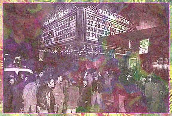 The Doors at the Fillmore East Index Graphic