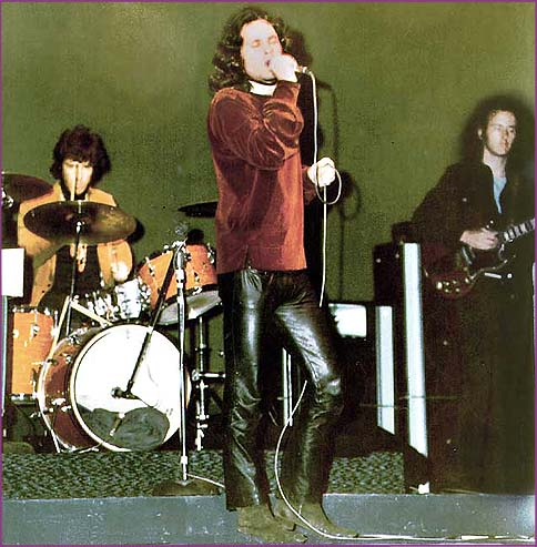 Jim Morrison & The Doors at the Fillmore East