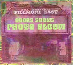 The Doors at the Fillmore Esat Photo Album