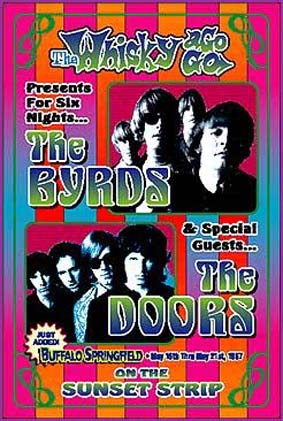 The Doors at the Whisky poster