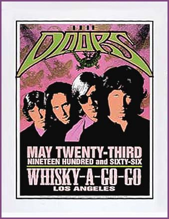 Doors at the Whisky Poster